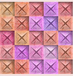 abstract background stone squares vector image