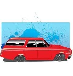 RedWagon vector image vector image