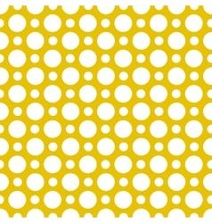 seamless polkadot pattern vector image
