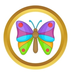 Butterfly icon vector