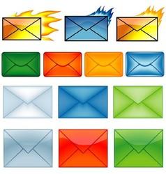 Envelope Symbols vector image