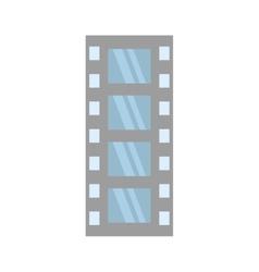 film strip negative equipment video vector image