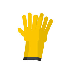 Glove icon flat style vector