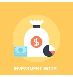 Investment Model vector image