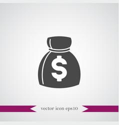 Money icon simple cash sign vector