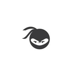 Ninja logo vector
