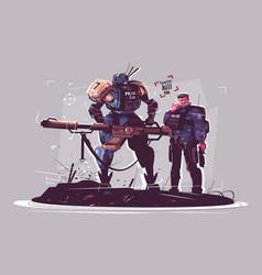 Police future vector