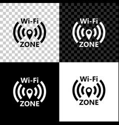 wi-fi wireless internet network symbol icon vector image