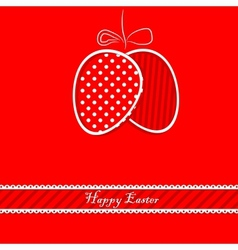 happy easetr card vector image