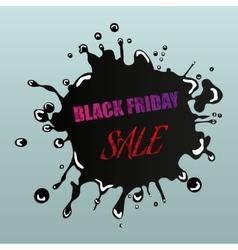 Black Friday Sale Design Element vector image