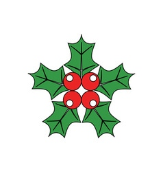 Christmas-Holly-380x400 vector