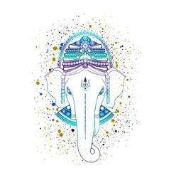 Ganesha god vector image