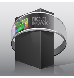 Package box for presentation vector