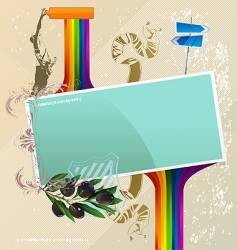 abstract banner for your text vector image vector image