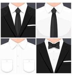 Man in suit vector image vector image