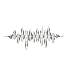 audio digital equalizer technology musical pulse vector image vector image