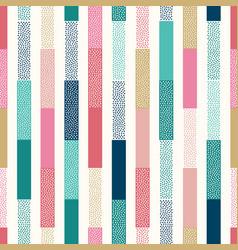 creative seamless dots geometric modern pattern vector image