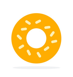 Donuts without glaze vector