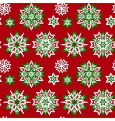 Ethnic Christmas seamless pattern vector