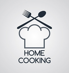 Home cooking vector