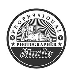 Professional studio vector