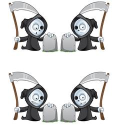Reaper And Gravestone vector