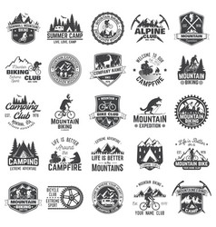 Set of extreme adventure badges concept for shirt vector