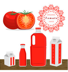 The theme tomato vector