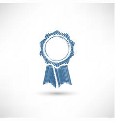 badge sketch vector image