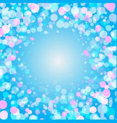 colorful explosion of confetti festive background vector image