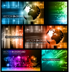 Abstract Business Backgrounds vector image