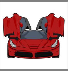 Car super car ferrari vector