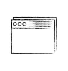 Figure website internet page technology design vector