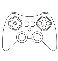 Icon joystick vector