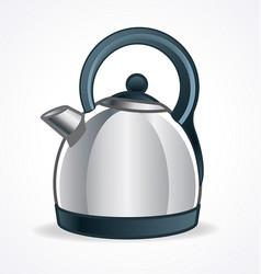 Modern kettle vector