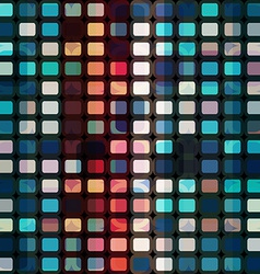 mosaic cells seamless vector image