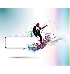 music men vector image