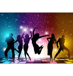 Party People Background vector image