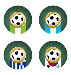 world cup group b vector image