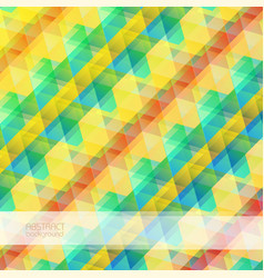 abstract mosaic bright background vector image vector image