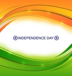 Colorful Wavy Background for Indian vector image