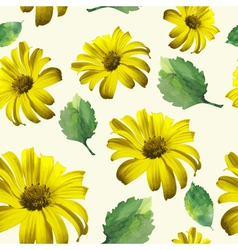 yellow patterns vector image vector image