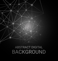 abstract digital background5 vector image