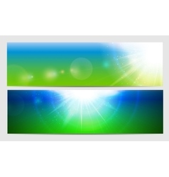 Abstract Light Colored Background vector image