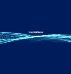 Abstract technology background cyber technology vector