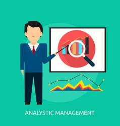 Analytic management conceptual design vector