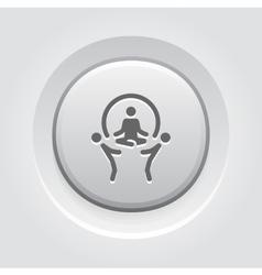Business Concept Icon Grey Button Design vector