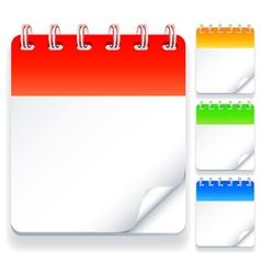 Calendars vector
