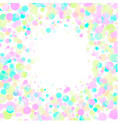 Colorful explosion of confetti festive background vector