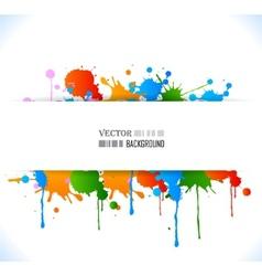 Colour grunge poster vector